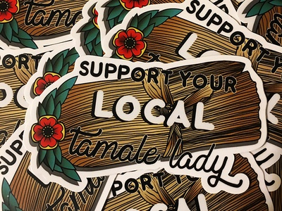 Support Your Local Tamale Lady!