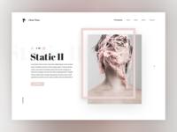 Oliver Thein website re-design concept