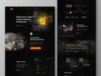 GolderGames - Landing Page