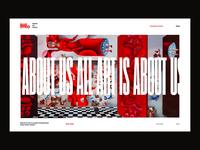 MO Modern Art Museum Website Concept