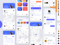 Active Lifestyle - App all Screens
