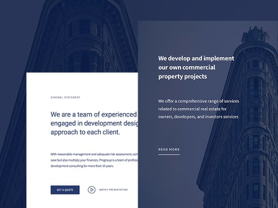 Business Consulting web design web ux ui corporate