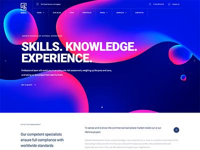 Miro - Business Consulting WordPress Theme themeforest theme wordpress slider minimal company business web web design