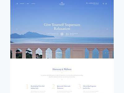 Quiero - Beauty Spa & Wellness Resort wordpress minimal ui web design web