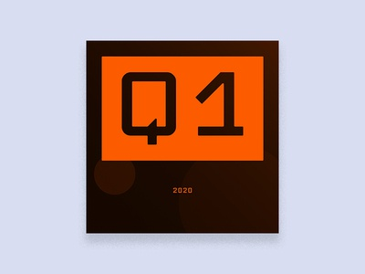 Dribbble DLV InTheGrooves 2020 Q1 orange album art cover design illustration twitch stream exercise gold music
