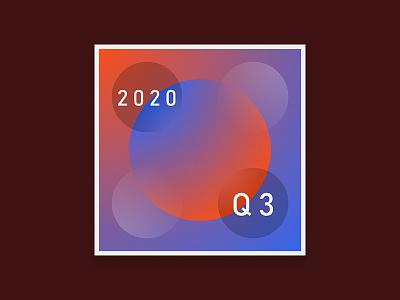 2020 Q. THREE - Playlist Art exercise creative spotify music playlist illustration design cover art album
