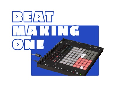 Beat Making Course production gold colors comps learning online course ableton music branding