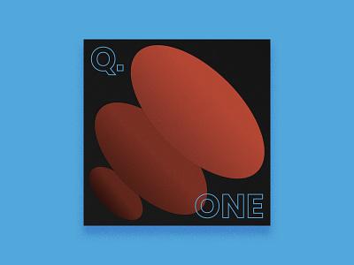 2019 Q. ONE - Playlist Art stream twitch illustration art album cover art music design