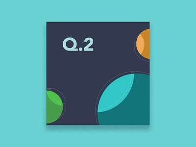 2019 Q. TWO - Playlist Art stream twitch design music cover art album art illustration