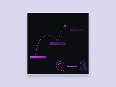 2019 Q. THREE - Playlist Art exercise twitch stream music illustration design cover art album