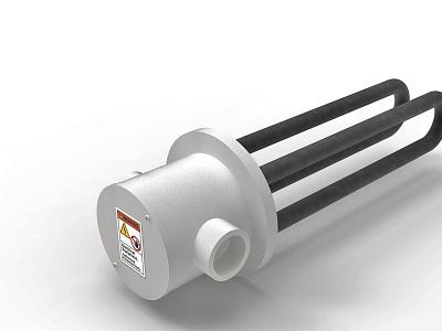 Immersion heater Rendering rendering product design industrial design design