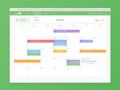 Meeting Calendar  app calendar web meeting