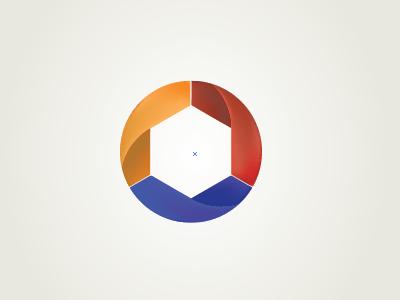 AfterSteps logo 1 logo mark cycle circle