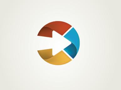 AfterSteps logo 2 logo mark cycle circle
