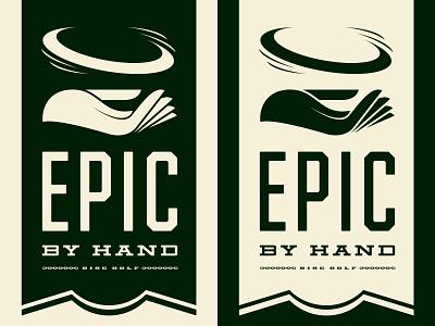 Epic Banner symbol badge banner disc golf branding