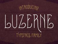 Luzerne Typeface