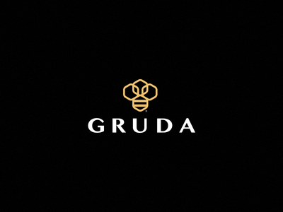 GRUDA symbol bee logo
