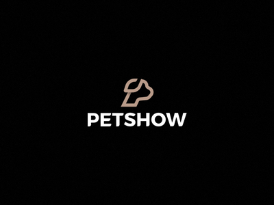PETSHOW symbol pet dog logo