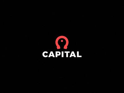 CAPITAL key horseshoe logo