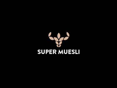 Super Muesli super symbol muesli logo