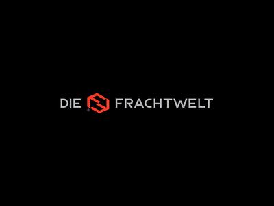 DIE FRACHTWELT box symbol icon symbol arrow logo fsymbol frachwelt air sea move cargo updown arrow
