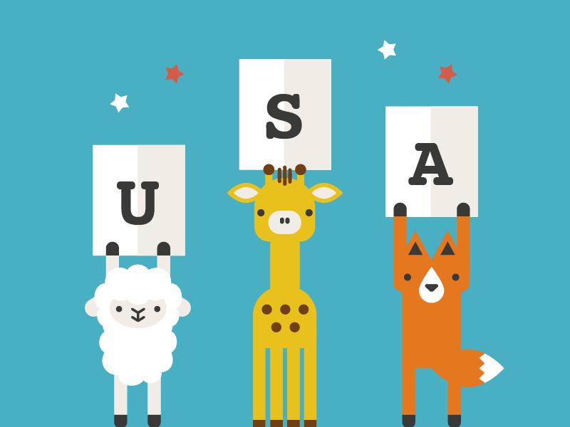 american ad animals