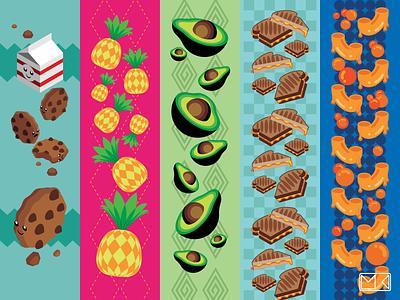 Dye Sublimation Sock Patterns vector logo illustrator illustration icon design art