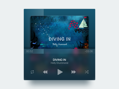 Just For Fun music player mini player ui