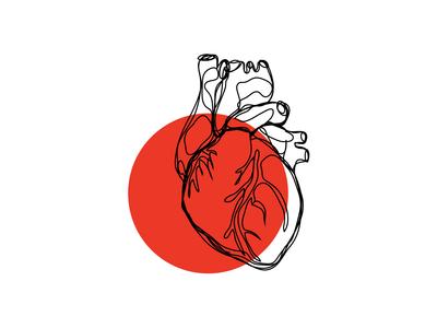 heart tattoo - love