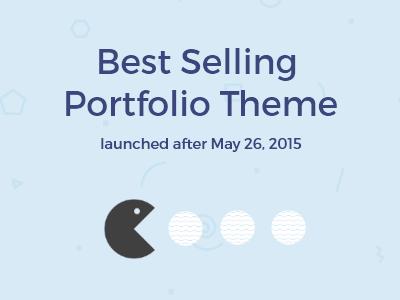 Bestselling premium wordpress theme designer pacman blue agency openmarco portfolio