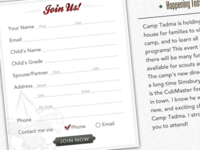Cub Scouts Form