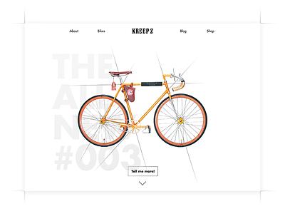 DailyUI - Day 003 custom bicycle cycle 002 dailyui