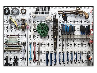 KREEP'Z Tool Wall mechanic photography tools workshop