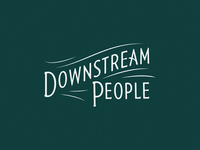 Downstream People Title Card