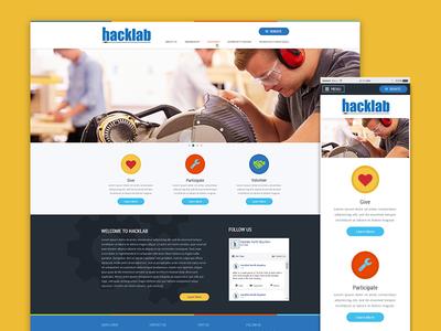 Hacklab Responsive Design