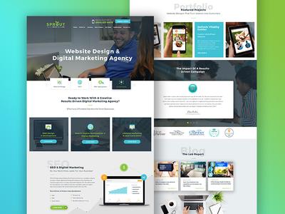 Digital Marketing Agency Site