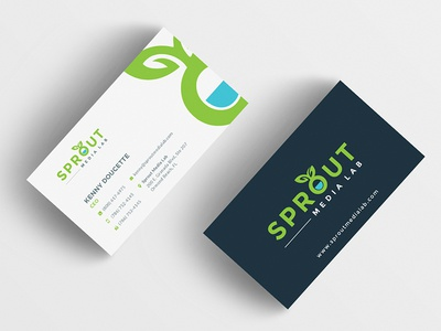 Marketing agency business cards by kailyn tyrrell dribbble marketing agency business cards colourmoves