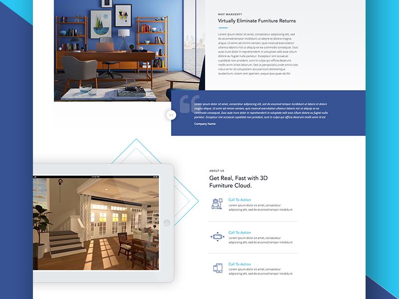 3d Room Planner Website Dribbble Website Howldb