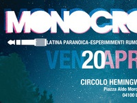 MONOCROM - part of flyer