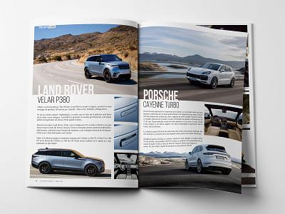 Stylished Mag #5 land rover porsche car editorial automotive editorial editorial layout magazine magazine design