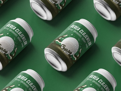 Berea Clujenilor - Label Design beer branding illustration label packaging label design craft beer beer art beer label beer can