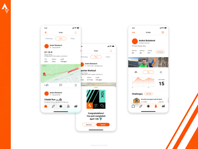 Strava App Design maps profile page challenges user interface activity tracker working out workout tracker workout app cycling app running app ui design app design strava minimalism design ux ui