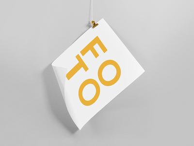 FOTO symbol gradient minimalism light lines branding pattern logo design shapes badesign