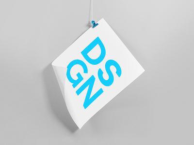 DSGN symbol gradient minimalism light lines branding pattern logo design shapes badesign