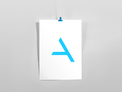 A symbol gradient minimalism light lines branding pattern logo design shapes badesign