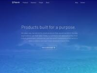 Palantir Home Page