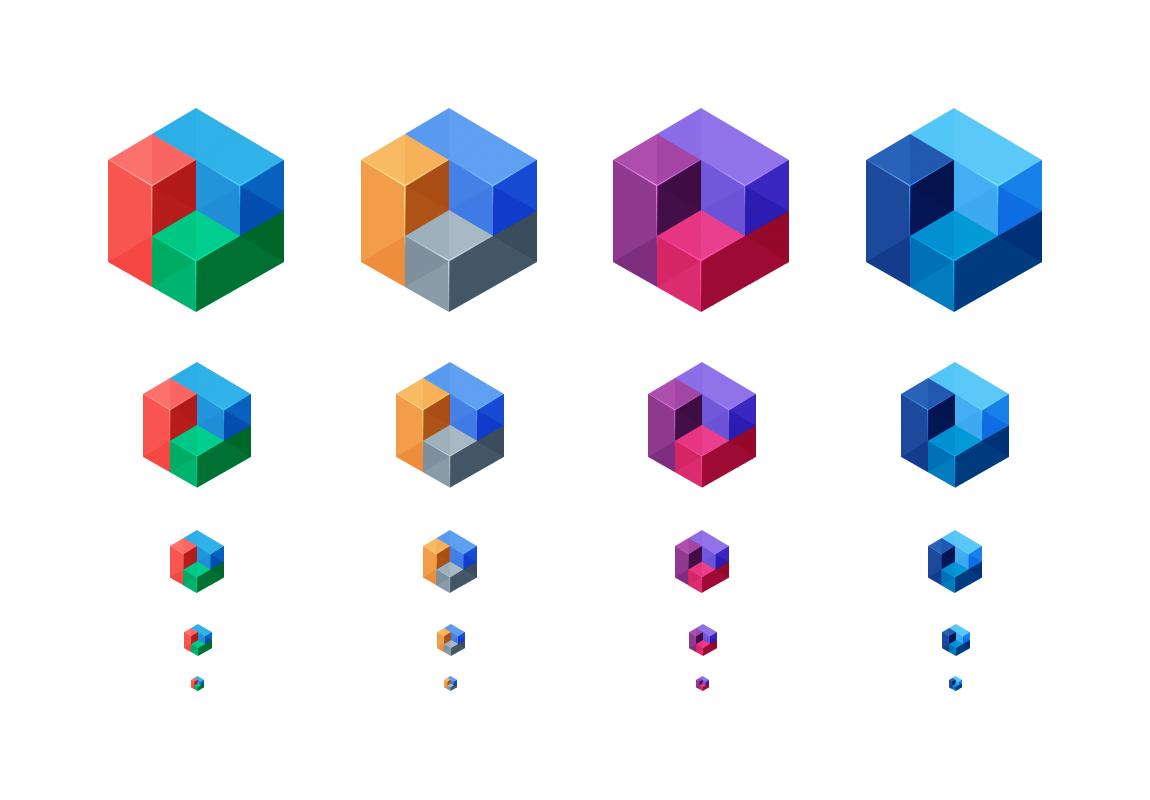Blueprint logo alternate colors