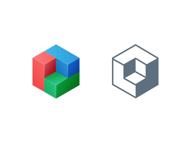 Blueprint logo alternate style