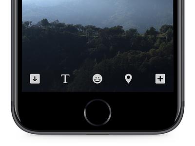 Edit video edit broadcast ios mobile ui interface