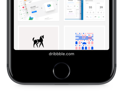 Dazzle dazzle browser web ios mobile ui interface